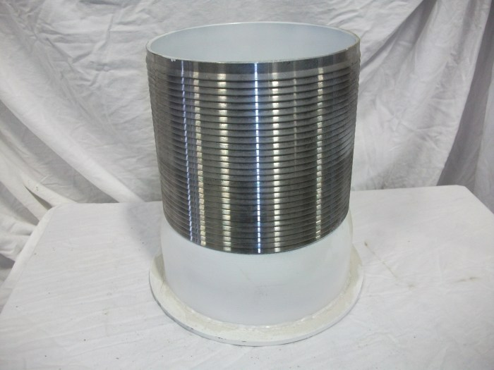 "8"" Flanged Barb Fitting"