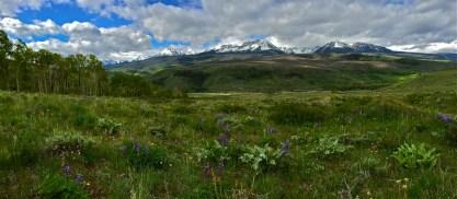 Gore Range, Summit County, Colorado.