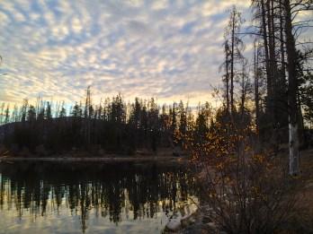 Soft sky above Colorado