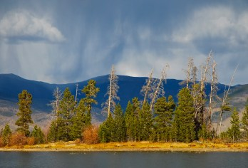 Thunderstorm sky Colorado