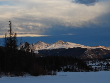 Wave cloud over the Continental Divide