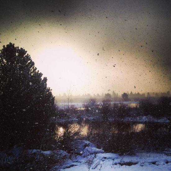 Snow ...