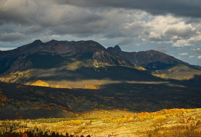 Autumn light, Colorado.