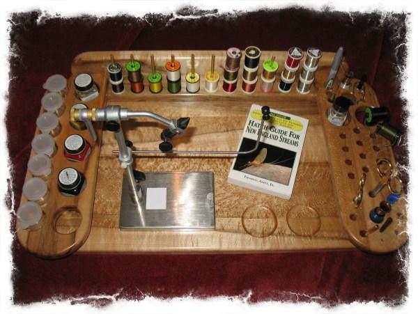 Diy Fly Tying Desk Wooden Pdf Build Kitchen