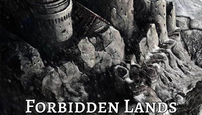 Forbidden Lands Reference Sheet