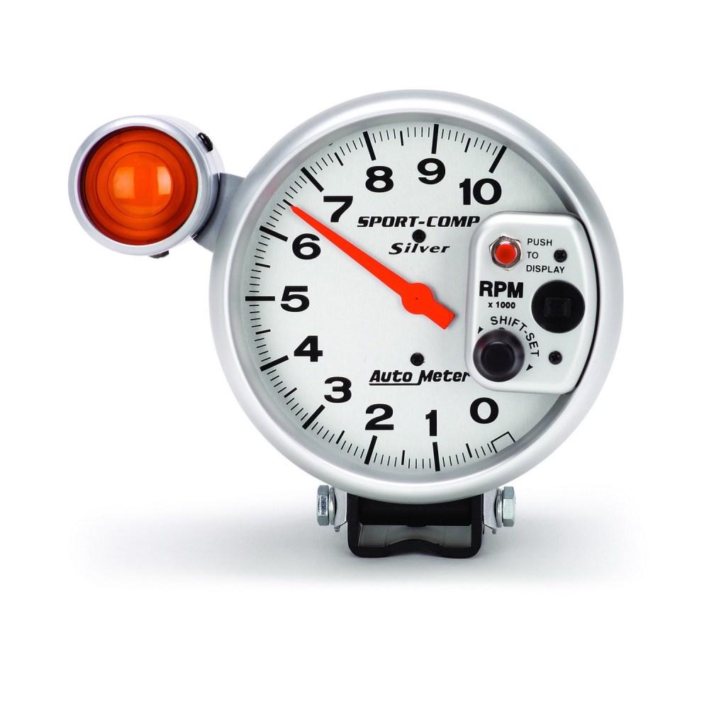 medium resolution of autometer sport comp 5 u2033 tachometer 0 10 000 rpm ultra lite rh summumperformance ca