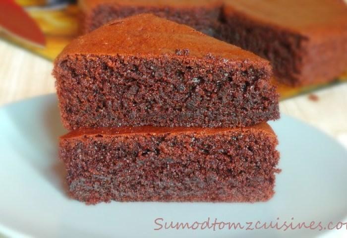 Eggless Chocolate Cake Recipe 1 Sumod Tomz Fusion Cuisines