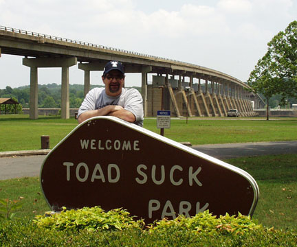 reserve toad suck park in conway