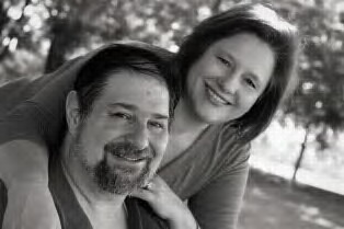 Julianne and David in 2011 in Lexington, KY.  I love this photo