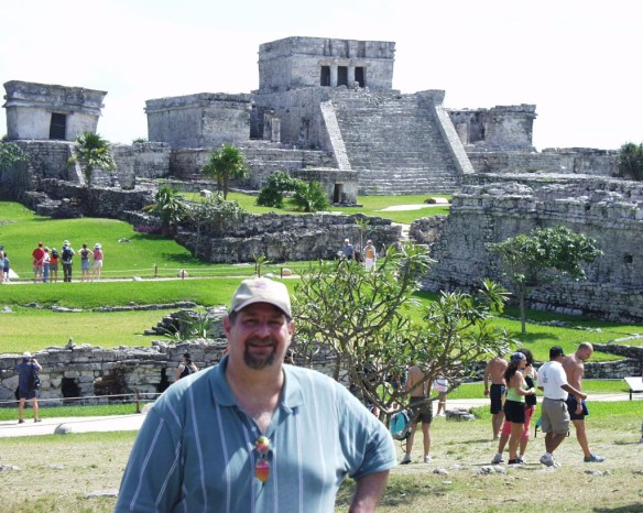 Visiting the Tulum ruins in Mexico