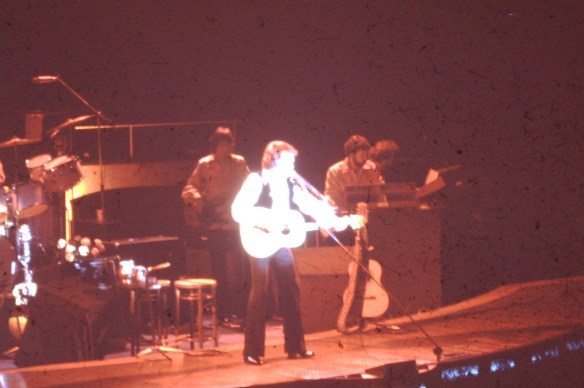 Rock Concert shot from 1975 in Salt Lake City