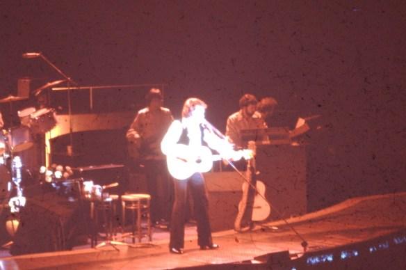 Rock Concert shot from 1975 in Salt Lake City