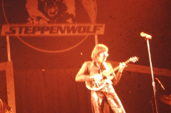 John Kaye of Steppenwolf in Salt Lake City, 1975