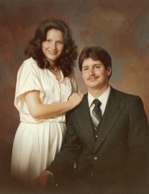 David and Julianne Wedding Photo July 1979