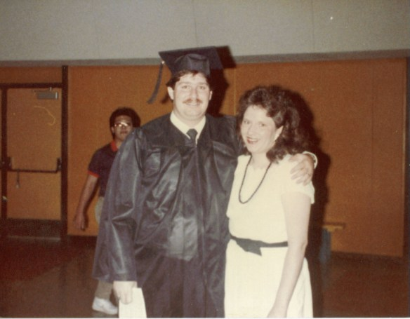 Graduation with Bachelors from Northern Arizona University - 1984