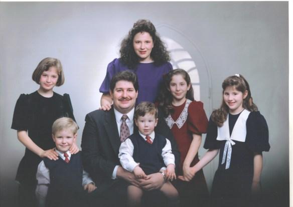 Kravetz Family ca. 1991, taken in Oita, Japan