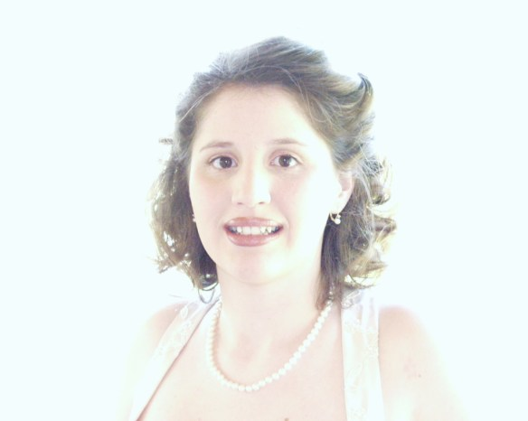 Chelsea on her wedding day in May 2005