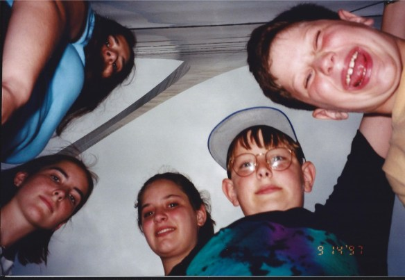 Visiting the St. Louis Arch in 1997