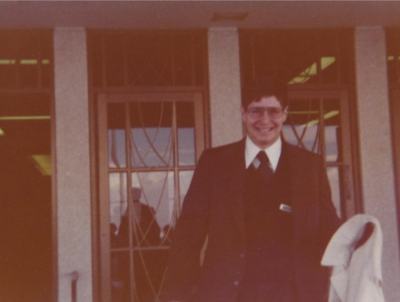 Leaving the Language Training Mission to head to Japan in April 1976