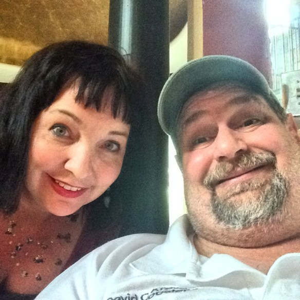 Hanging out with Texas travel blogger, author and photographer Tui Snider in Azle, TX