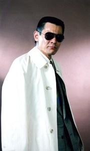Bunta Sugawara in one of his mob boss roles