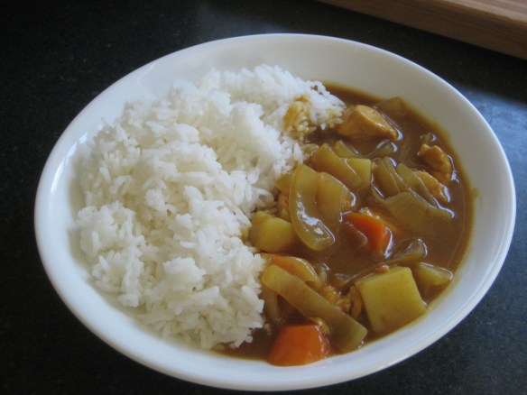 Japanese rice Curry - similar to what we make at home