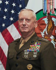 "Retired Marines General James N. ""Mad Dog"" Mattis"
