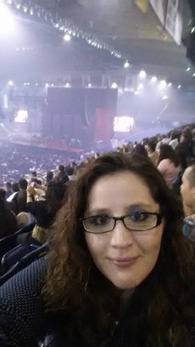 Chelsea at a Romeo Santos concert in Chicago