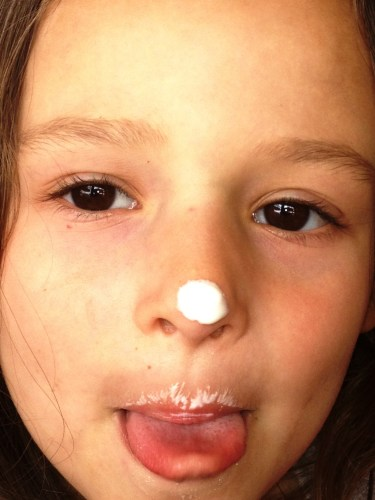 Ice Cream Nose at Chick-Fil-A