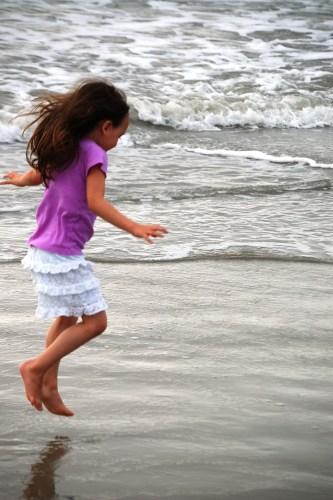 On the beach in Hilton Head, SC