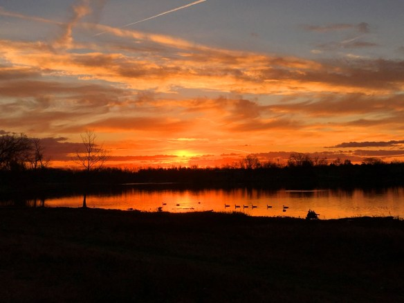 Sunrise on Thanksgiving