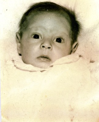 I have posted this before. It was given to me by my Laurienzo family and is the earliest known photo, taken in October 1956, shortly after I was born.