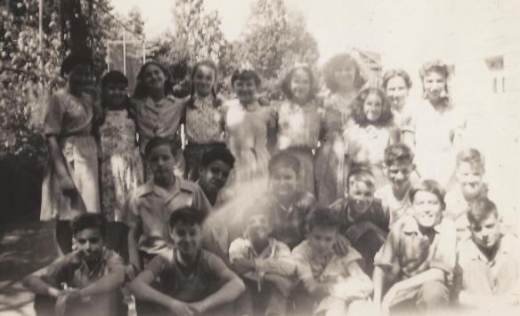 Joe Kravetz in fifth grade in 1944.