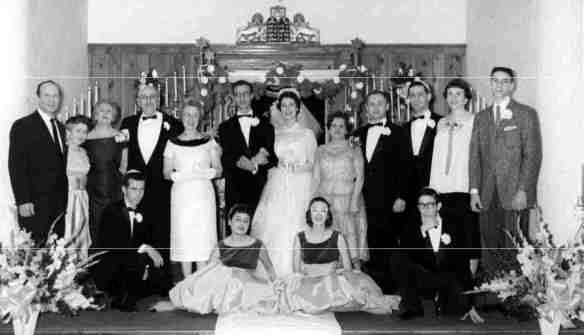 Photo from Joe and Orene Wedding 21 Dec. 1958