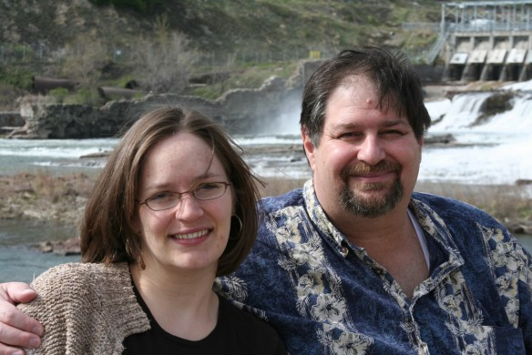 Visiting with Amaree in Great Falls, MT in 2006
