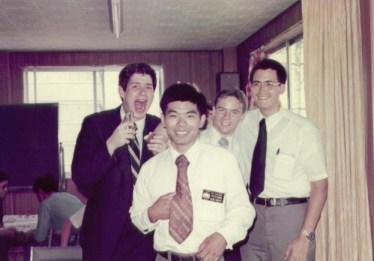 Fooling around with the Ogaki Elders in 1977