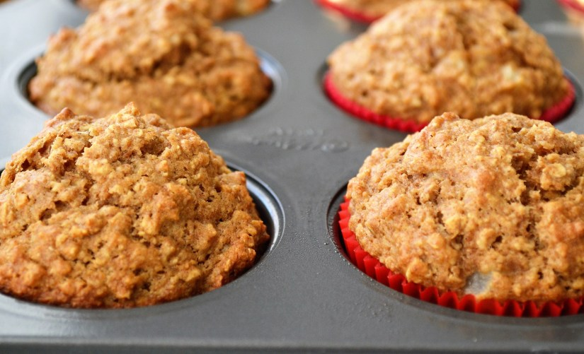 Healthy Oatmeal Muffins 2 ways