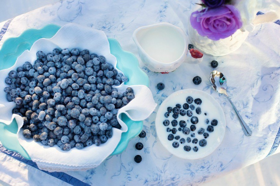 blueberries ranked as one of the fruits that have the highest vitamins and antioxidants