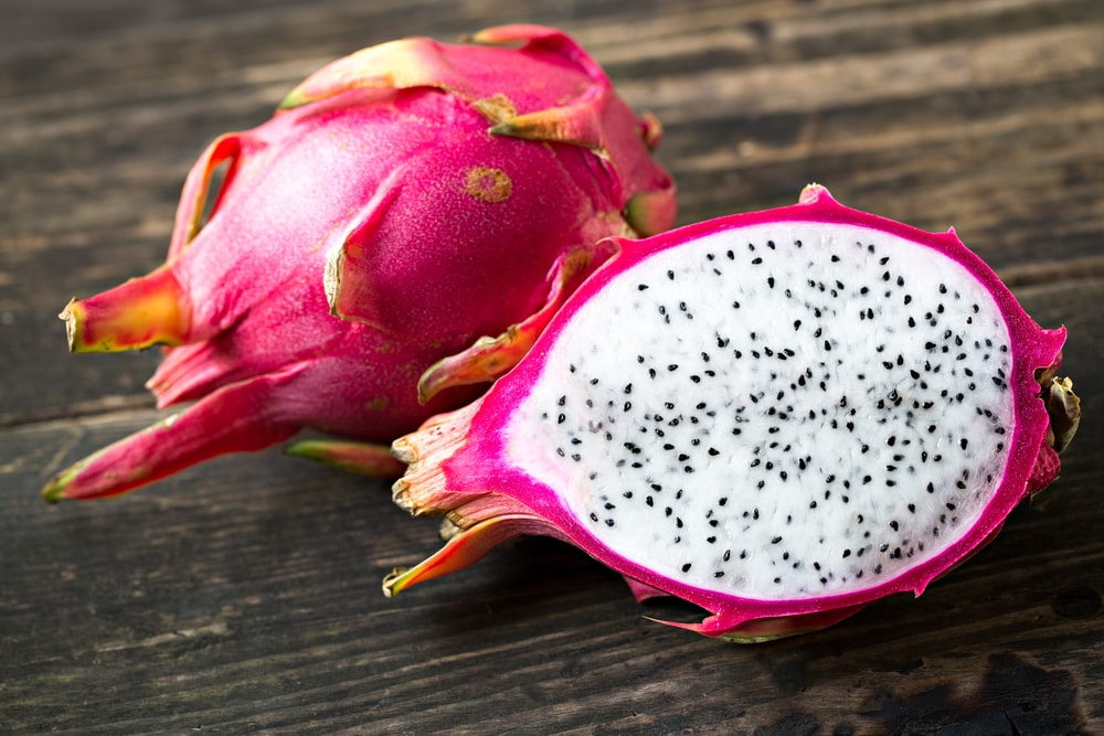 How to Cut the Dragon Fruit Open