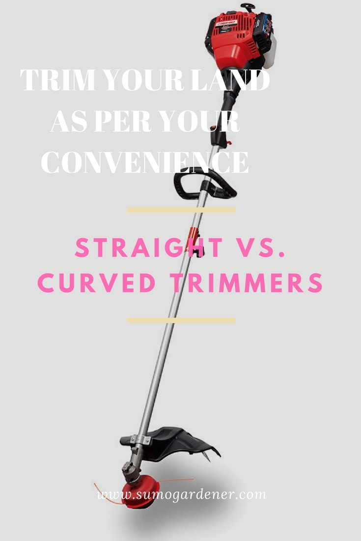 curved vs straight shaft trimmer