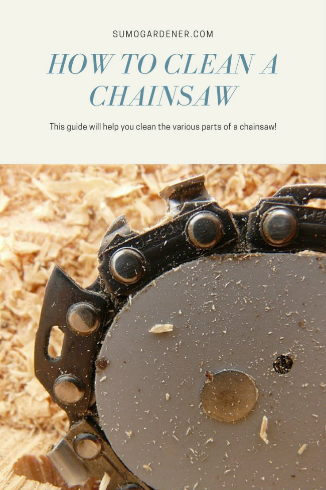 How To Clean A Chainsaw?