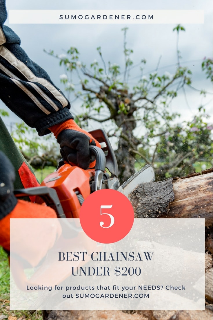 best chainsaw under $200