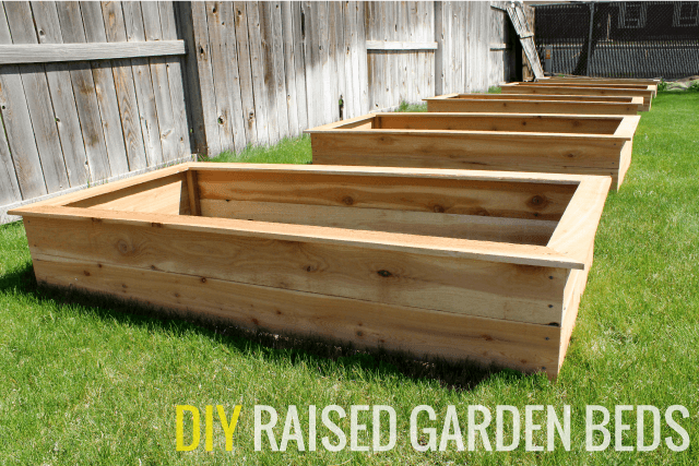 DIY Raised Garden Beds with ChrisLoveJulia