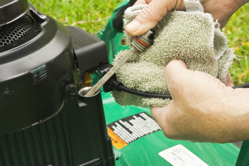 How To Remove Oil From Lawn Mower