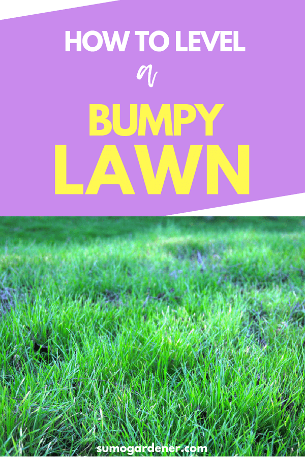 how to level a bumpy lawn 2 2 1