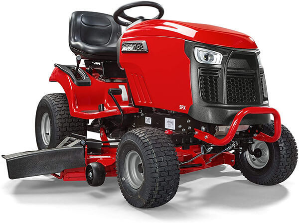 Snapper SPX2346 46 inches Lawn Tractor 23hp Briggs V-Twin Professional Engine have spin-on oil filters and full-pressure lubrication to ensure a trouble-free mowing experience