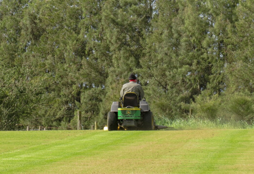 Garden tractors are designed to be much tougher than lawn tractors and riding mowers because they need to be able to tackle tougher jobs