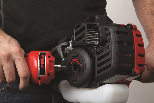 types of brush cutter engines