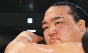 El Ozeki Kisenosato ha desaprovechado una gran oportunidad para ser líder en solitario (Foto: Sumoforum.net)