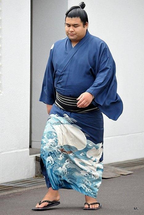 El Maegashira Takayasu se está convirtiendo en la gran sorpresa de este Nagoya Basho (Foto: Martina Lunau)
